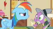 Rainbow Dash & Spike S2E8