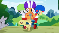 CMC sees rabbits going away S1E23