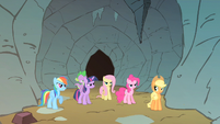 Rainbow Dash let's go S1E19