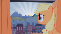 Sad filly Applejack S1E23