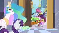 Bellhop with Rarity's luggage S2E09