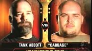 TANK ABBOTT VS CABBAGE UFC
