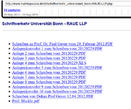 MM Konvolut 2012 Screenshot