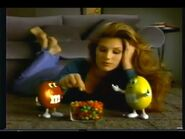 M&M's Commercial with Daisy Fuentes (1995) -2