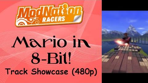 ModNation Racers - Mario in 8-Bit!