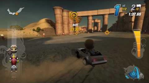 ModNation Racers Career - The Grim Tour (Part 2 of 5)