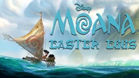 All Moana Easter Eggs -- Eggabase