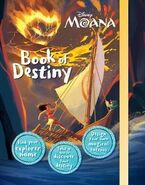 Moana Book of Destiny