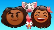 Moana Disney Emoji BLitz 3