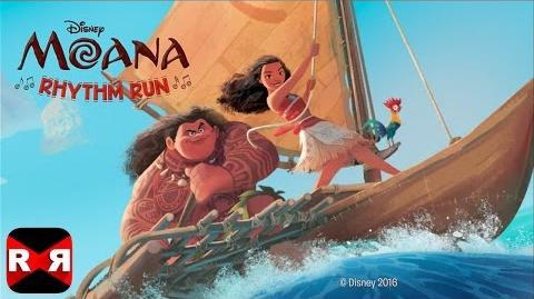 Moana Rhythm Run (By Disney) - iOS Android - Gameplay Video