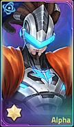 Alpha portrait awakened upscale