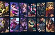 Mobile Legends Project NEXT Skin Before and New