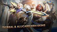 Tigreal & Alucard New Skins Lightborn—Defender & Lightborn—Striker Mobile Legends Bang Bang!