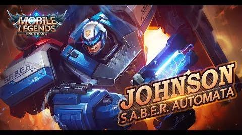 Mobile Legends Bang Bang! Johnson New Skin S.A.B.E.R
