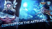 Contest for the Artifact Fighters on Stormy Sea Trailer - Chapter II Mobile Legends Bang Bang