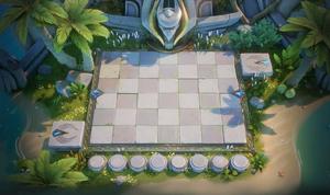 Sandy Island Chessboard