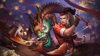 Dragon Boy (rework) wall
