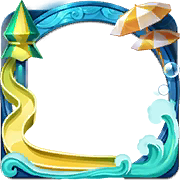 Summer Pool Party Avatar Border.png