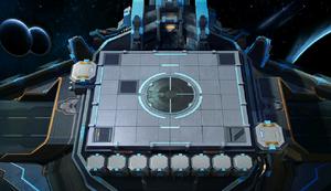Interstellar Battlefield Chessboard