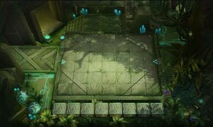 Jungle Ruins Chessboard