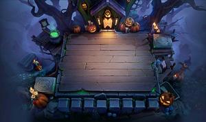 Pumpkin House Chessboard