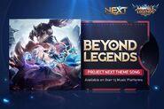 ML Project NEXT Beyond Legends Song