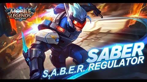 Mobile Legends Bang Bang! Saber New Skin S.A.B.E.R