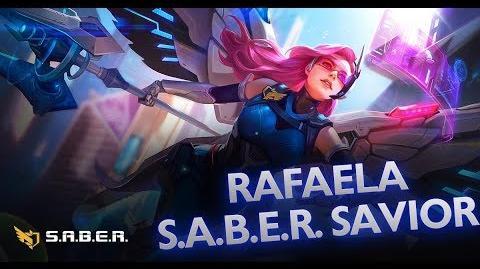 Mobile Legends Bang Bang! Rafaela New Skin S.A.B.E.R