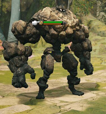 Mighty Golem fight.jpg