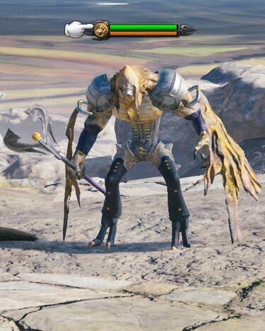 Grudge Shaman (Earth) fight.jpg