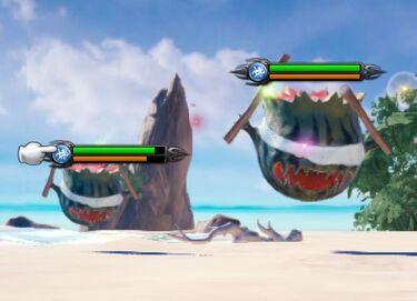 Melon Bomb fight.jpg