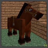 Med Brown Horse-0