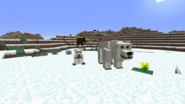 Polar bear snow biome