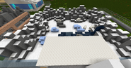 Polar bear zoo