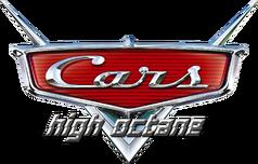 Cars Pixar logo high octane