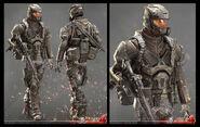 SGS soldier