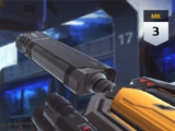 Counterweighted Laser Sight
