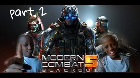 Modern Combat 5 - Blackout Multiplayer gameplay Free-For-All + T