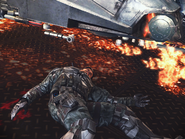 MC5-Saunders corpse
