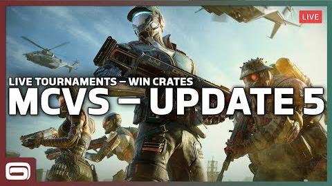 MODERN COMBAT VERSUS – Update 5 PC Livestream (Win Tournament Crates)