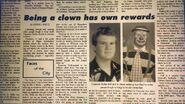 Being a clown has own rewards