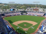 Dodger stadium daytime