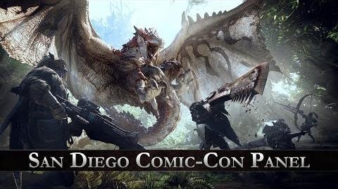 Monster Hunter World - San Diego Comic-Con Panel