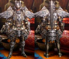 Armure Basarios S (Épéiste) (MH4)
