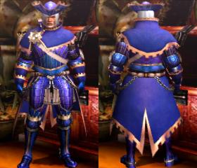 Armure impériale X (Épéiste) (MH4U)