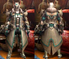 Armure Barioth X (Épéiste) (MH4U)