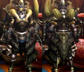 Armure Diablos Z (Artilleur) (MH4U)
