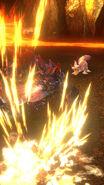 MHSP-Incinerating Blade Glavenus and Mizutsune Screenshot 001