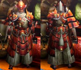 Armure Aurore H/ancestrale H (Artilleur) (MH4)