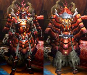 Armure Crépuscule X/Mithril X (Épéiste) (MH4U)